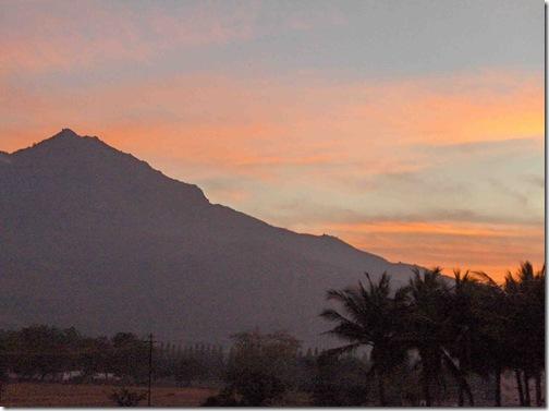 Arunachala Sunrise after Mahasivaratri night