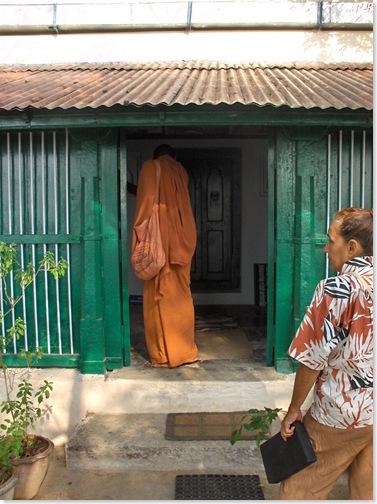 Entering Skandashram