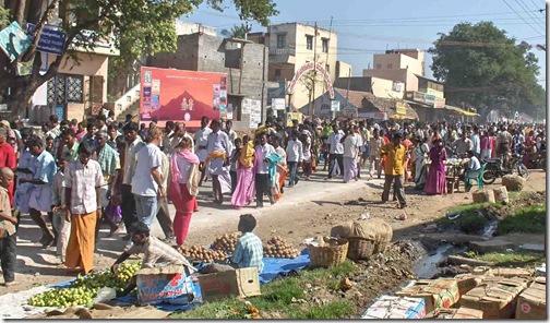 Deepam pradakshina