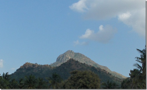 Arunachala from the West Side