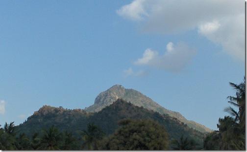 Arunachala from the West Side