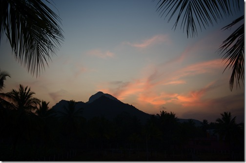 Dawn over Arunachala