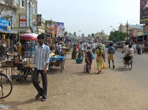 Tiruvannamalai Retail District - Car Street