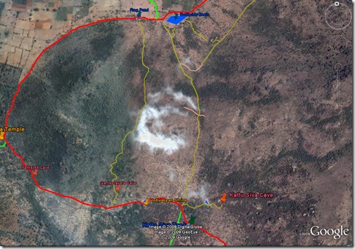 Path Across Arunachala area