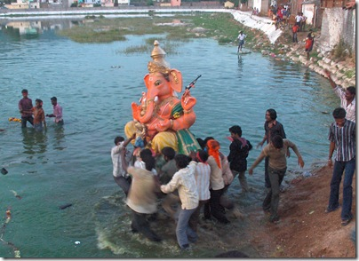 Ganesh Chaturthi Celebration in Tiruvannamalai