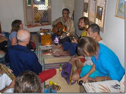 Sunday Bajan Singing with Upahar