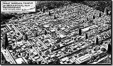 250px-Plan_of_Srirangam_temple_town