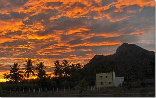 Arunachala sunrise