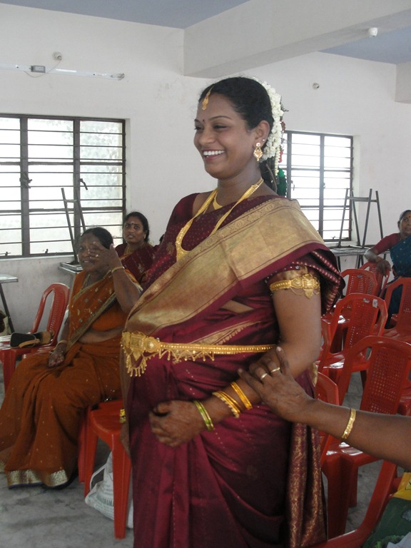 Bangle Ceremony For An Expectant Mother Living In The
