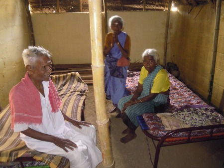 People in Old Age Home