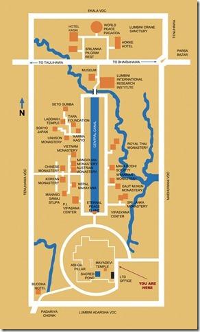 lumbini map