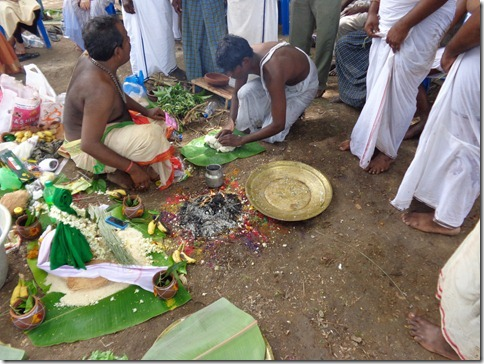 A Kariyam, a Tamil Death Ceremony | Living in the Embrace of