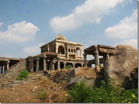 Queen's palace at Krishnagiri