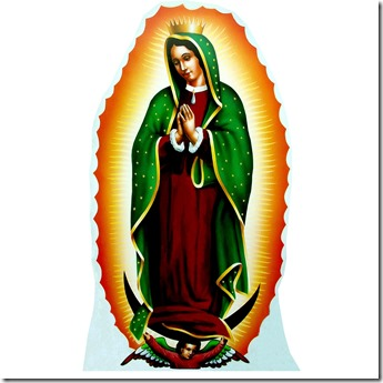 Our Lady of Guadalupe Life-Size Cardboard Stand-Up