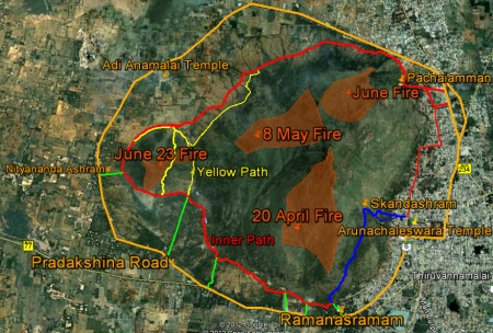 after fire map