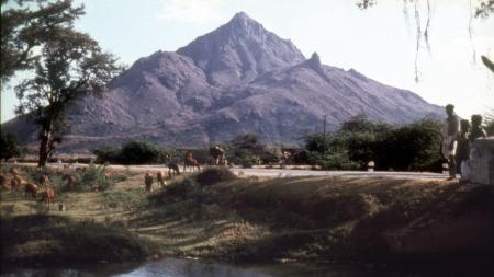 Old photo of Arunachala